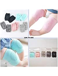 LDG WARE Silicone Socks Baby Apparels Best Match For Toddler Kids Winter Edition To Keep Your Baby Warm Hygiene Baby Socks For Joint Ache And To Make Knees Strong (Baby Knee Pad Socks, 2)