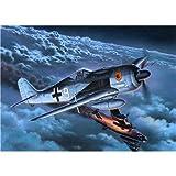 Revell Modellbausatz 04165 - Focke Wulf Fw 190 A-8/R-11 im Maßstab 1:72