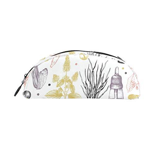 Porte-crayons avec motif de parfum, bouteille, stylo, papeterie, sac de rangement avec fermeture à glissière, maquillage pour filles, garçons