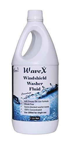 wavex windshield washer fluid (1ltr) wwf1k concentrate 100ml per use car glas... Wavex Windshield Washer Fluid (1Ltr) WWF1K Concentrate 100ml Per Use Car Glas… 41JYa1pZ1sL