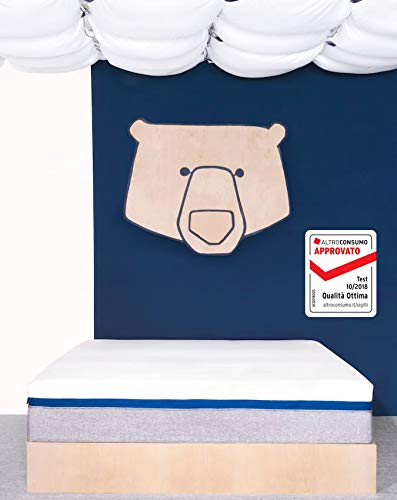 Risultati Test Materassi Altroconsumo.Tediber L Incredibile Materasso Singolo Memory Foam Lattice E