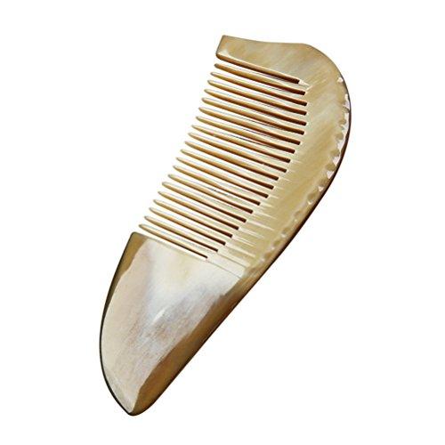 frcolor Kamm mit Haar aus Horn antistatisch mit Griff - Horn Hair Comb