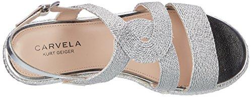 Carvela - Kleo, Scarpe spuntate Donna Silver (Silver)