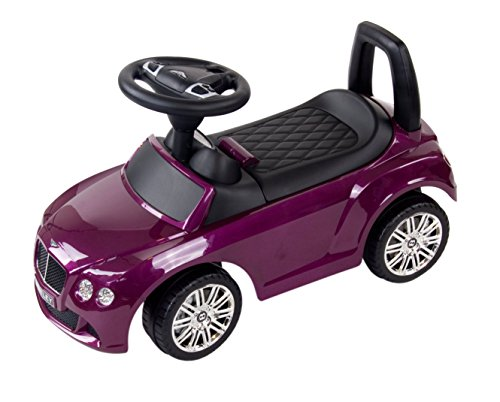 *Bentley Continental GT Speed Kinder Auto Baby Car, Rutschauto, Purple*