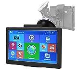 7 ' Navigatore GPS Camion a Comando Vocale con Touch Screen HD, Navigatore Satellitare 8 GB con Schermo Capacitivo Navigatore GPS per Auto Aggiornamento del GPS Navigatore Bluetooth