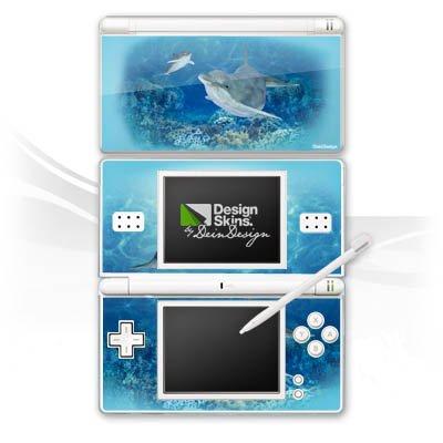 Skin Kompatibel Mit Nintendo Ds Lite Aufkleber Sticker Folie Happy Dolphins Delfin Ocean