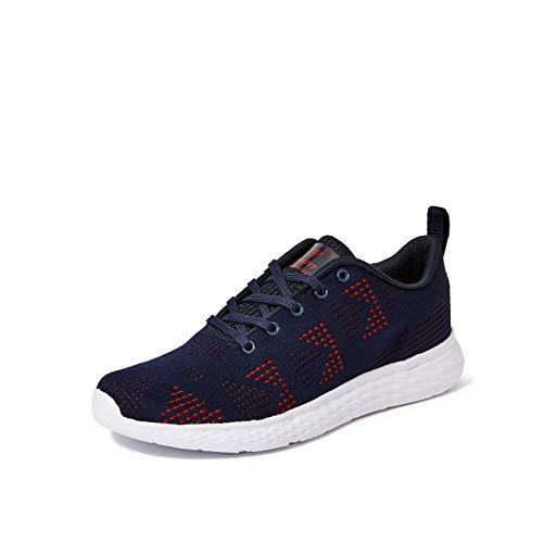 Fusefit Men's Fusion Navy/Red Running Shoes-9 UK/India (43 EU)(FFR-122)