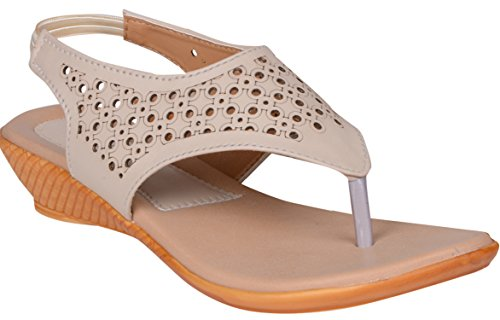 Aroom comfort women's Cream flats