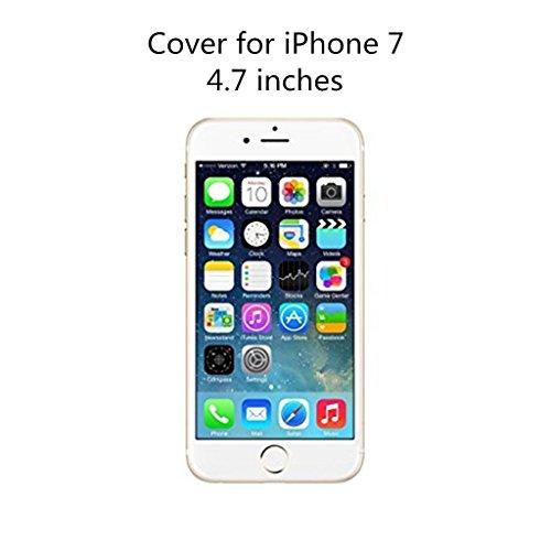 Cover iPhone 6/6S Case MUTOUREN Conchiglia Custodia TPU Silicone Case Caso Guscio Shell Flessible Bumper Ultra fina Posteriore Caso Protettiva Smartphone - modelli dipinti fragole creativo07