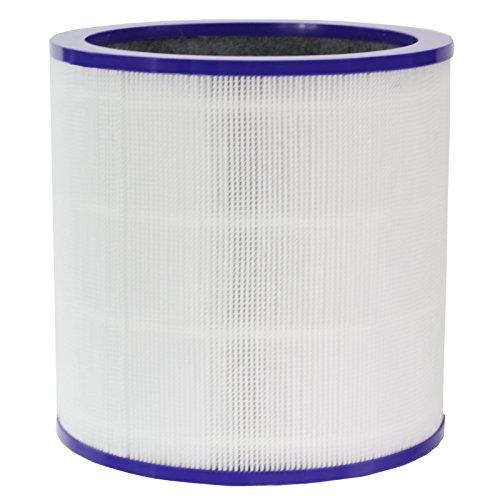 Spares2go 360° vetro filtro HEPA per aspirapolvere Dyson torre Pure Cool Link purificatore d' aria