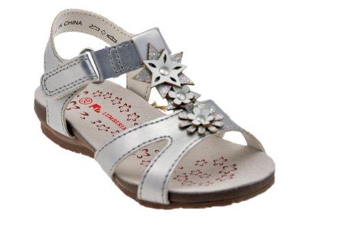 Lumberjack Lutin Sandales Neuf Chaussures Enfant Argent