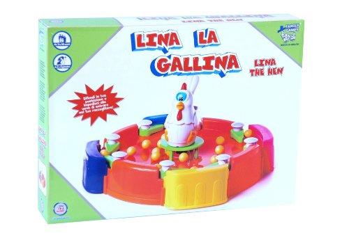 Family Games 35987 - Gioco da Tavolo Lina La Gallina