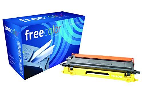 Preisvergleich Produktbild freecolor TN135Y für Brother HL-4040CN, Premium Tonerkartusche, wiederaufbereitet, 4.000 Seiten, 5 Prozent Deckung, YELLOW