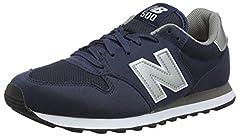 New Balance, Herren Sneaker, Blau (Navy), 44.5 EU (10 UK)