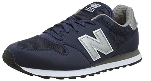 New Balance 500 Core, Chaussons Homme, Bleu Grey Navy, 42,5 EU