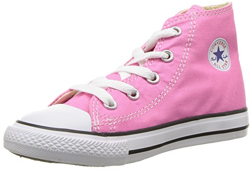 Converse Ctas Core Hi, Sneakers Hautes Mixte Fille, Rose, Rose