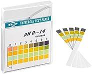 ECENCE pcs. Bandelettes de test de pH sur rouleau, plage de mesure 0-14, Indicateur de tournesol papier univer
