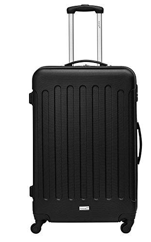Packenger Reisekofferset Travelstar 3er-Set (Schwarz) - 2