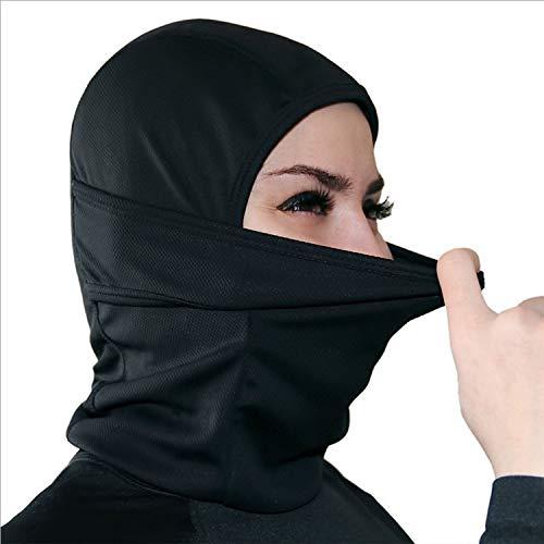 zheng xuan Balaclava Gesichtsmaske - Eine Größe für alle elastischen Stoffe - Schützt vor Wind, Sonne, Staub - Ideal für Motorräder, Gesichtsmaske für Ski, Radfahren, Laufen oder Wandern - Sommer- ode