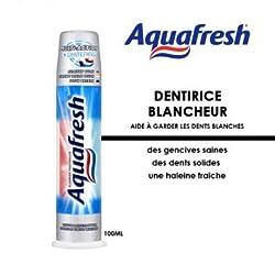 Aquafresh Whitening Toothpaste Pump, 100ml