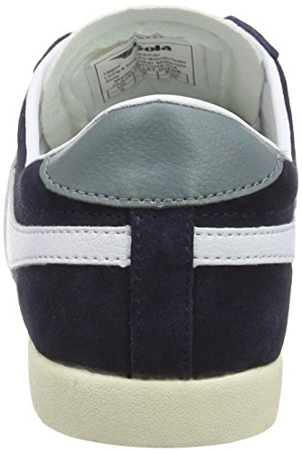 Gola  Bullet Suede, Sneakers Basses femme Bleu (Navy/white)