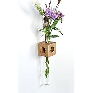 Fenstervase Ulme Blumenvase test tube vase
