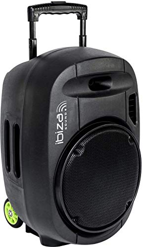 PORT12VHF-MKII - Ibiza Sound - Sistema de sonorizacion portatil autonomo 12