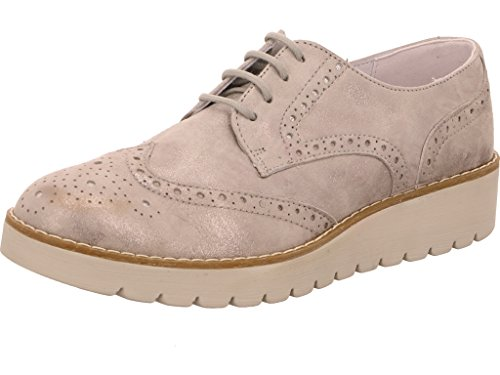 Femmes Chaussures basses acciaio argenté, (acciaio) 7742000 acciaio