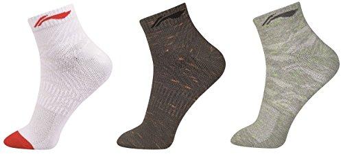 Li Ning Herren Socken 3er Pack Sportsocken