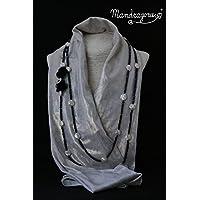 Collana lunga GIRA GIRA con perle e cristalli neri