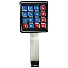 Teclado Interruptor de Membrana 4 x 4 16 Teclas Matriz para Arduino