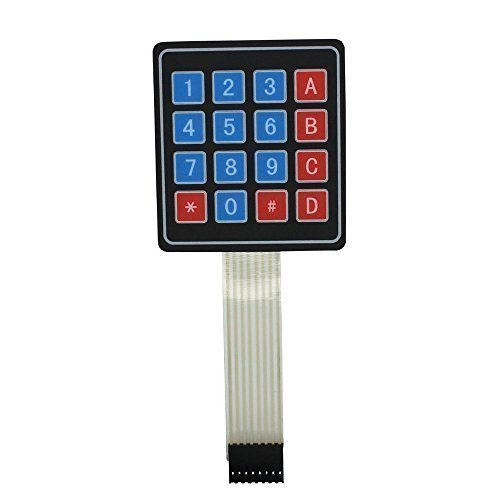 Teclado Interruptor Membrana 4 x 4 16 Teclas Matriz