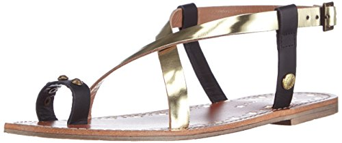 Pepe Jeans London JANE FINGER, Sandali aperti donna, Multicolore (999BLACK), 39 EU