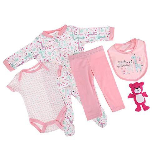 Unbekannt Schöne Puppe Kleidung Outfit Für 20 22inch Reborn Puppen Kleidung Zubehör