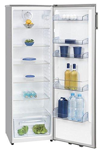 Kühlschrank ohne Gefrierfach Inox 169cm A++ LED Umluft