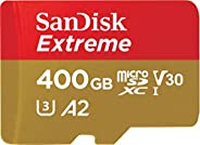 SanDisk Extreme microSDXC UHS-I Memory Card with Adapter