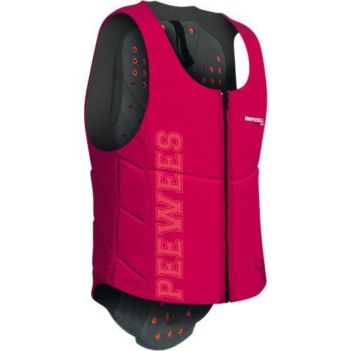 Komperdell Ballistic Vest Junior Pinker Schutz, Unisex Erwachsene, Unisex-Erwachsene, 6288-209.F18, schwarz/pink, 152