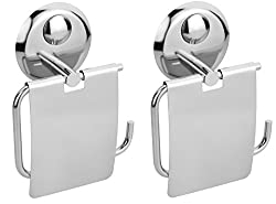 Set of 2 pieces Stainless Steel Paper holder -Creta Series
