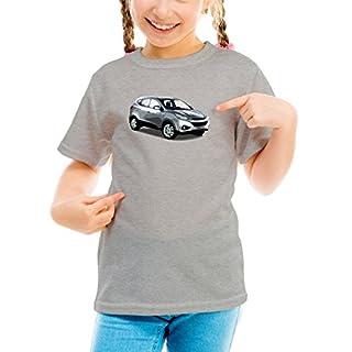 Billion Group   Korea X   Fast And Furious Motor Cars   Girls Classic Crew Neck T-Shirt Grey Large