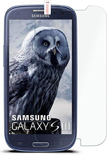 moex 9H Panzerfolie für Samsung Galaxy S3 | Panzerglas Bildschirm Glasfolie [Tempered Glass] Screen Protector Glas Bildschirmschutz-Folie für Samsung Galaxy S3 / S III Neo Schutzfolie