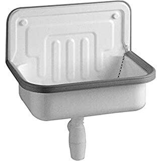 Alape Sink AG. Steel Form 505, 50.5 x 33.5 cm, Set of 1, White 1100000000