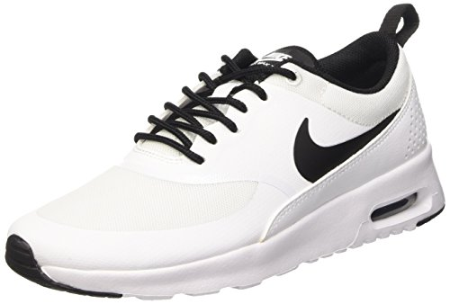 Nike Damen Wmns AIR MAX Thea Sneakers, Weiß (102 WHITE/BLACK-WHITE), 36 EU / 5.5 US