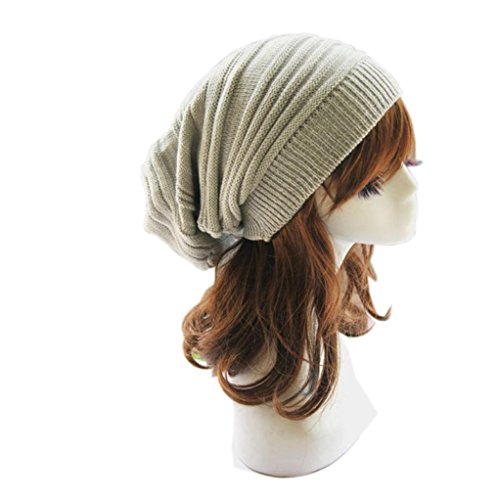 overdose-unisexes-tricot-ample-bonnet-beret-hiver-ski-chaud-surdimensionne-casquette-chapeau-beige