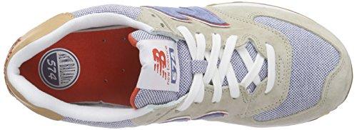 New Balance Herren Ml574 Sneakers Grau (Grey/Blue)