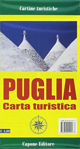 Puglia. Carta turistica
