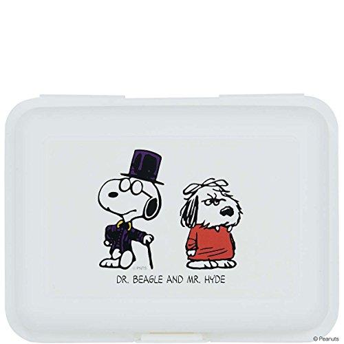 BUTLERS PEANUTS Brotdose Dr. Beagle & Mr. Hyde- Aufbewahrungsdose - Polypropylen - 17,5 x 12,8 x 6,9 cm