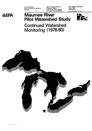 Ind Pilot (905979005C  Maumee River Pilot Study Watershed Study Continued Watershed Monitoring 1978-1980  Ind (English Edition))