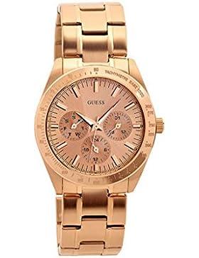 GUESS Damen-Armbanduhr Mini Chase Analog Quarz Edelstahl W13101L1