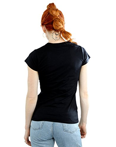 Harry Potter Damen Expecto Patronum Charm T-Shirt Schwarz