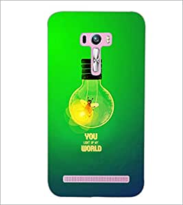 PrintDhaba Quote D-2863 Back Case Cover for ASUS ZENFONE SELFIE ZD551KL ULTRA (Multi-Coloured)